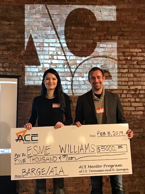 ACE SCHOLARSHIP AWARD WINNER - ESME WILLIAMS